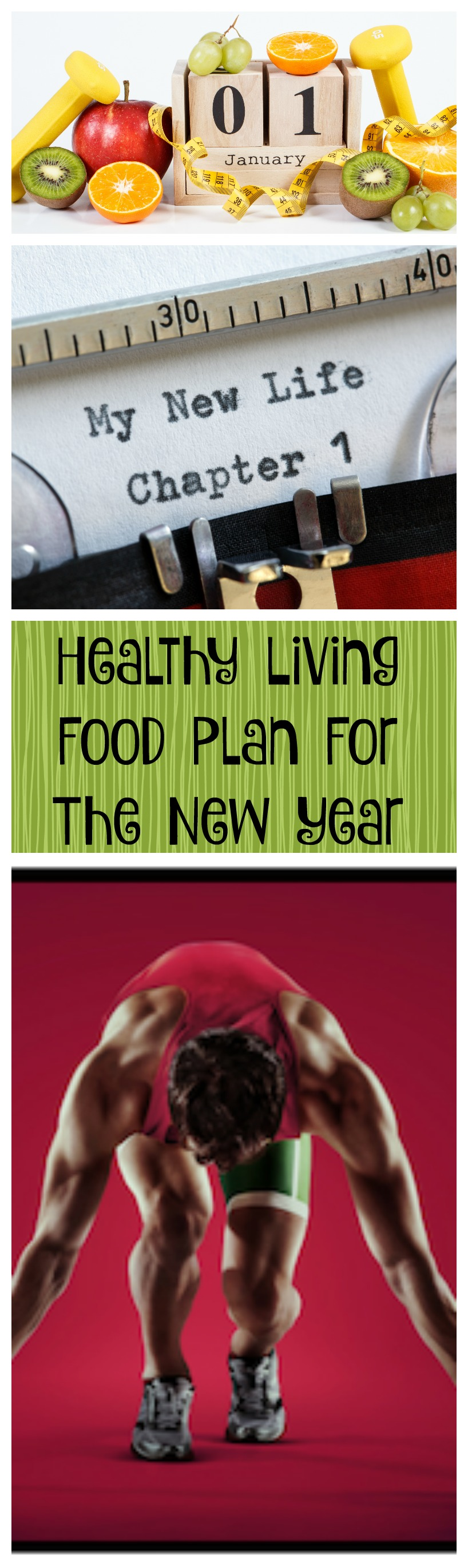 healthy living food plan for the new year